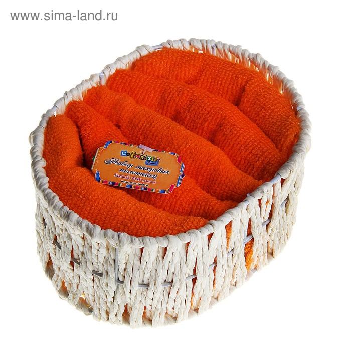 Набор полотенец Orange 30*30 см - 5 шт