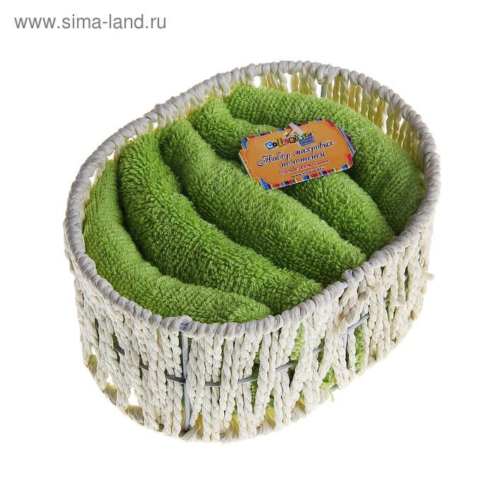 Набор полотенец Green 30*30 см - 5 шт