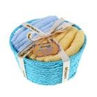 Набор полотенец Summer blue 30*30 см - 4 шт
