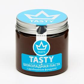 """Шоколадная паста """"Tasty"""" с дробленным фундуком 200 г"""