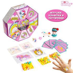 WOW Candy Набор с предсказаниями игрушка + конфеты  Sweteees