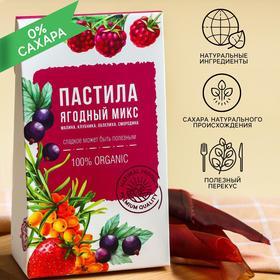 Фруктовая пастила «Польза для здоровья»: вкус ягоды, 50 г. БЕЗ САХАРА И КОНСЕРВАНТОВ