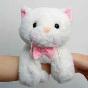 Мягкая игрушка «Котик», цвет белый в Донецке
