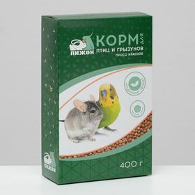 "Корм ""Пижон"" просо красное, для птиц и грызунов, 400 г"