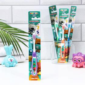 Children's toothbrush Bambolina MiMiMishki soft, 3-5 years