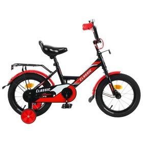 """Велосипед 14"""" Graffiti Classic, цвет черный/красный"""