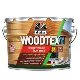 Пропитка düfa для защиты древесины WOOD TEX, белая, полуматовая, 3л