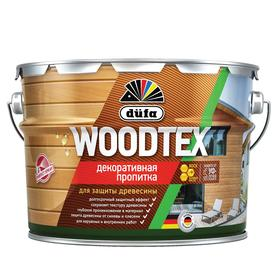 Пропитка düfa для защиты древесины WOOD TEX, махагон, полуматовая, 3л