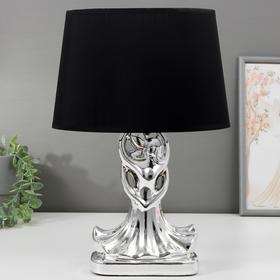 Лампа настольная 16318/1 E14 40Вт хром 14,5х8,5х34,5 см