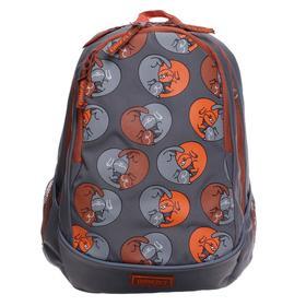 Рюкзак молодежный, Grizzly RD-041, 40x29x20 см, эргономичная спинка, отделение для ноутбука, «Коты»