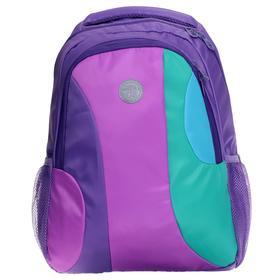 Рюкзак молодежный, Grizzly RD-142, 42x31x18 см, эргономичная спинка, «Фиалка»