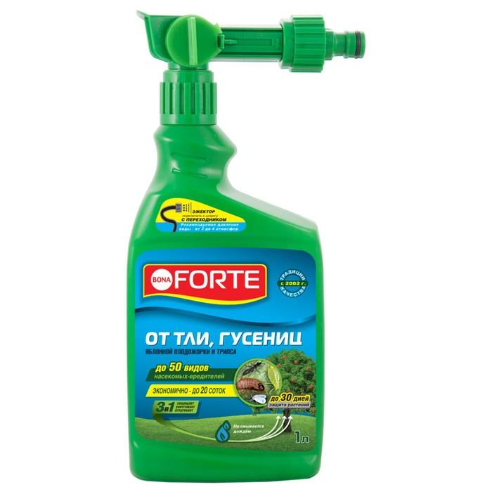 Средство защиты концентрат Эжектор БФ от тли, гусениц и других насекомых, 1 л - фото 282127112