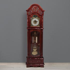 Часы напольные с боем, завод на 7 дней, 60х25х200 см