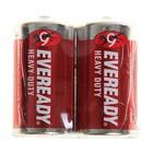 Батарейка Солевая  Eveready Heavy Duty, C, R14-2S, спайка, 2 шт.