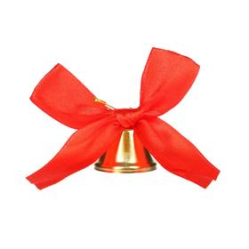 Bell with a red bow, d = 3.6 cm