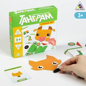 Развивающая игра-головоломка «Танграм. Я познаю мир», 3+