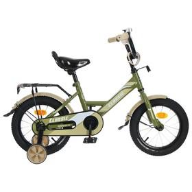 """Велосипед 14"""" Graffiti Classic, цвет хаки"""