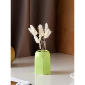 """Органайзер """"Карандашница"""", матовый, светло-зелёный, 10 см"""
