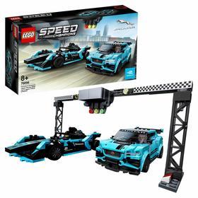 Конструктор Formula E Panasonic Jaguar Racing GEN2 car & Jaguar IPAC