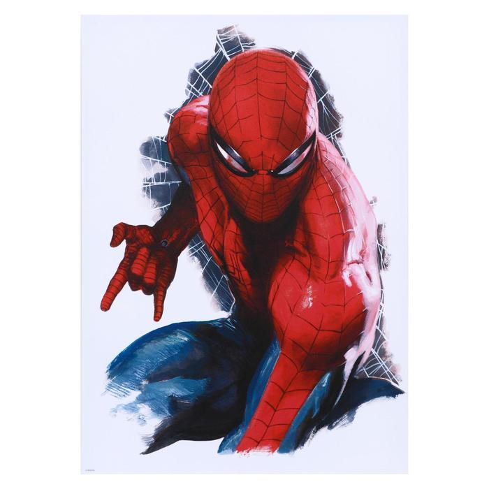 """Постер """"Человек-паук"""" 50х70 см - фото 1248852"""