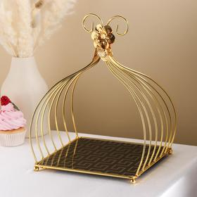 {{photo.Alt || photo.Description || 'Подставка под десерты «Шатёр», 27×25×29 см'}}
