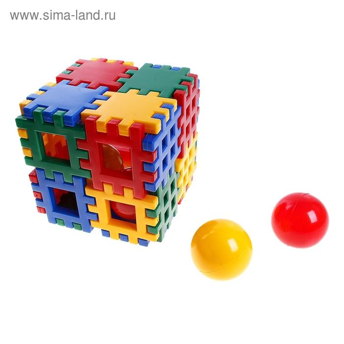 Куб-конструктор большой, 28 элементов