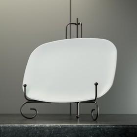 {{photo.Alt || photo.Description || 'Подставка под тарелки Доляна, 15,5×25 см, цвет чёрный'}}