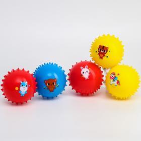 Набор развивающих массажных мячиков, «Веселый Ёжик», d= 8 см, мягкие, цвет МИКС