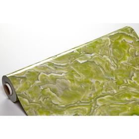 Термоклеёнка непрозрачная в рулоне, 0,8х15 м, толщина 0,8 мм, мраморный рисунок