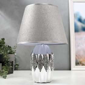Table lamp 16323/1 E14 40W chrome 12x12x25 cm