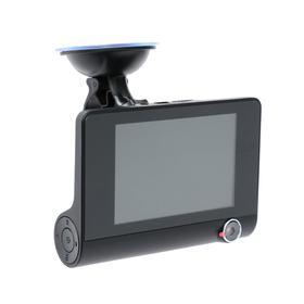 Видеорегистратор Cartage, 2 камеры, FHD 1080P, LTPS 4.0, обзор 120°