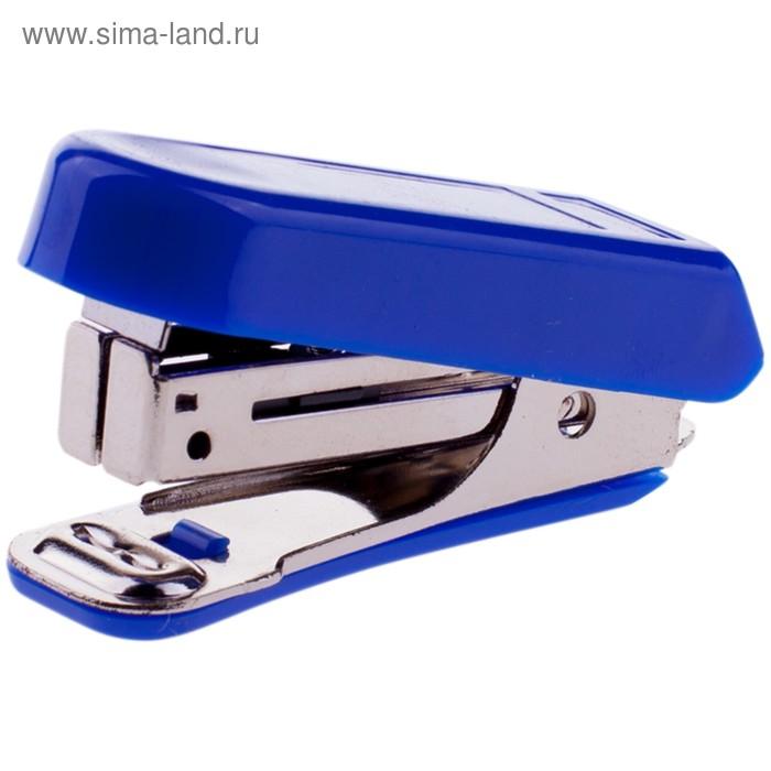 Степлер №10 7 листов OfficeSpace пластиковый синий