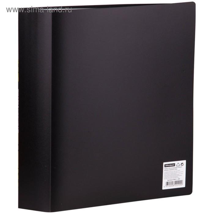 Папка с 80 прозрачными вкладышами А4, 800мкм, черная