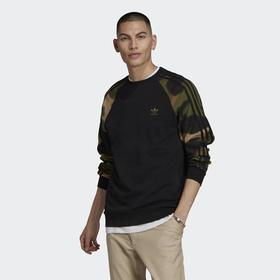 Свитшот Adidas Camo Stripes Crewneck Sweatshirt, размер 48-50 (GN1858)