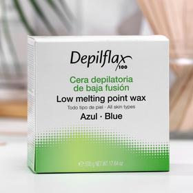 Воск для депиляции Depilflax100, азуленовый, 500 г