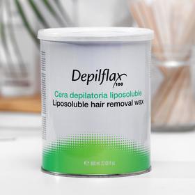 Воск для депиляции Depilflax100, розовый, 800 мл
