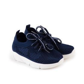 Кроссовки детские, цвет синий, размер 27