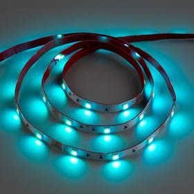 Комплект светодиодной ленты URM, 12В, SMD5050, 5 м, IP20, с аксесс., 7.2Вт/м, 30 LED/м, RGB