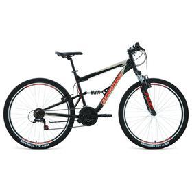"""Велосипед 27,5"""" Forward Raptor 1.0, цвет черный/красный, размер 16"""""""