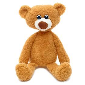 Мягкая игрушка «Медвежонок Ермак», цвет коричневый, 21 см