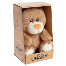 Мягкая игрушка «Медвежонок Сильвестр», цвет светло-коричневый, 20 см