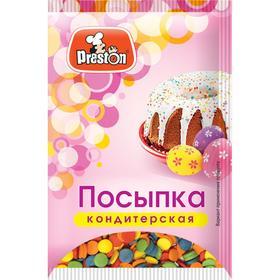 Посыпки кондитерские Preston декоративные «Радуга-конфетти», 7 г