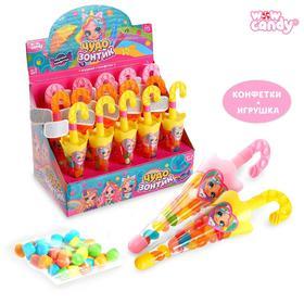 WOW Candy Набор игрушка + конфеты Милые зонтики, МИКС