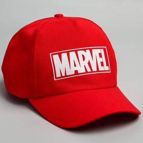 """Кепка детская """"Marvel"""", красная, р-р 52"""