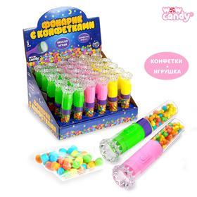 WOW Candy Набор игрушка + конфеты, фонарик МИКС