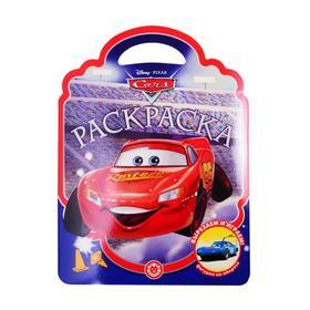 Раскраска-сумочка «Тачки»