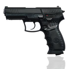 """Пистолет пневматический """"Umarex IWI Jericho B"""" 4.5мм, (металл, черный)"""