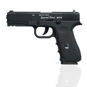 """Пистолет пневматический """"BORNER W119 (Glock 17)"""" кал. 4,5 мм"""