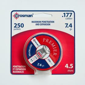 """Пули для пневматики Crosman """"Destroyer"""" кал. 4,5мм, 0,51гр, 250шт"""