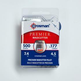 """Пули для пневматики Crosman """"Wadcutter"""" кал. 4,5мм, 0,48гр, 500шт"""